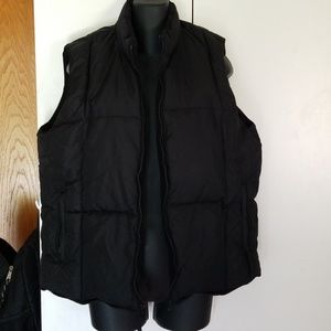 Old Navy partial down puffer vest